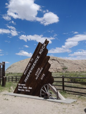 Wyoming - Oregon Trail - Independence Rock